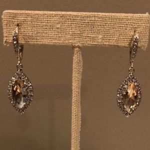 Jolie Crystal Drop Earrings